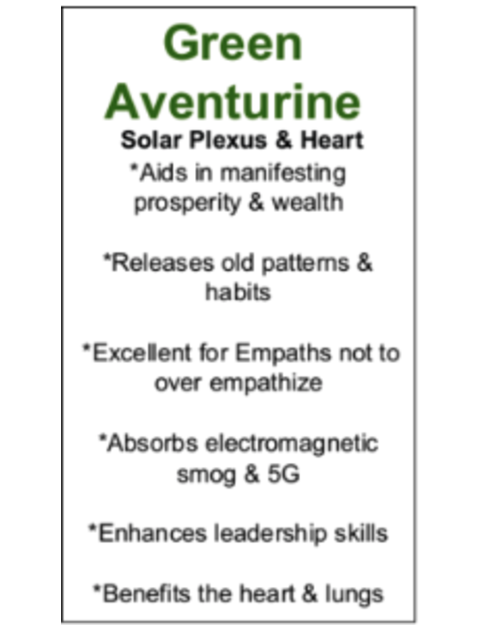 Arrow Pendulum w/ Chakra Beads-Green Aventurine