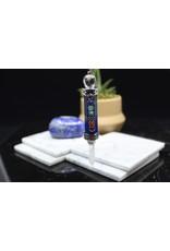 Chakra  w/ Clear Quartz Point-Lapis Lazuli Pendulum Wand