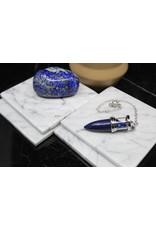 Chambered Pendulum-Lapis Lazuli