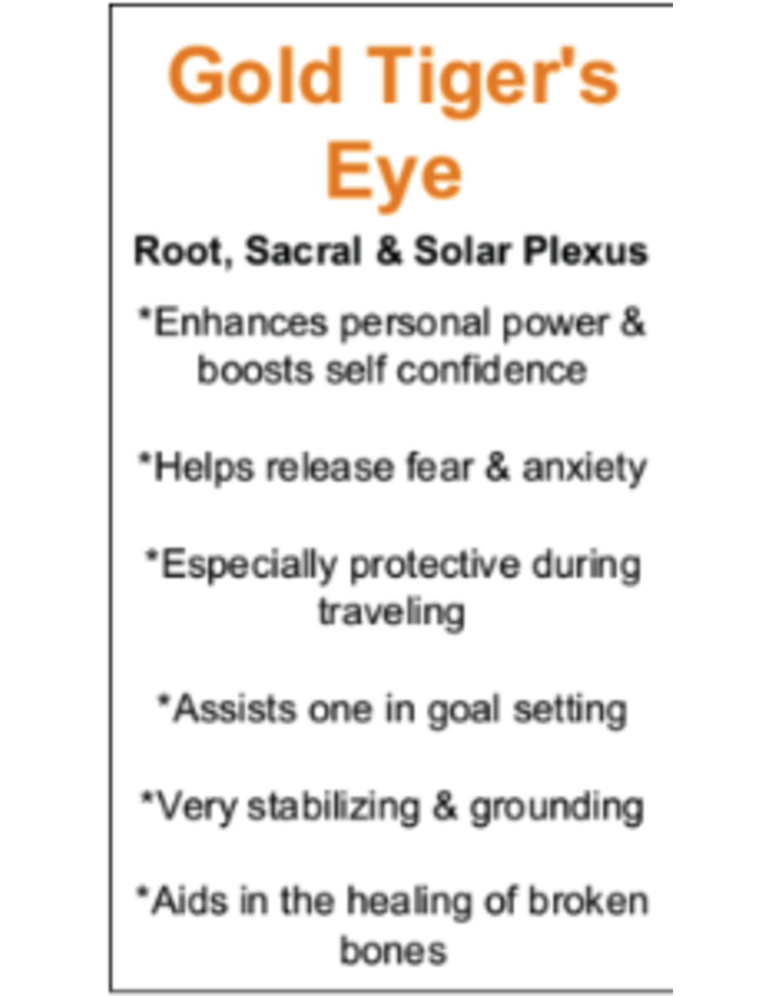 Gold Tigers Eye Chambered Cone Pendulum