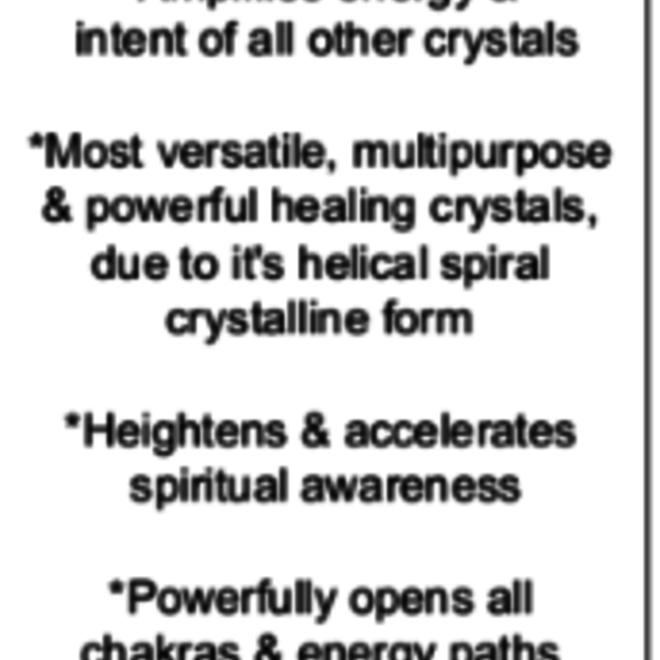 Clear Quartz Hexagon Faceted Point Pendulum