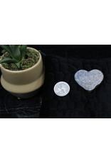Amethyst Druzy Heart B Grade-Small