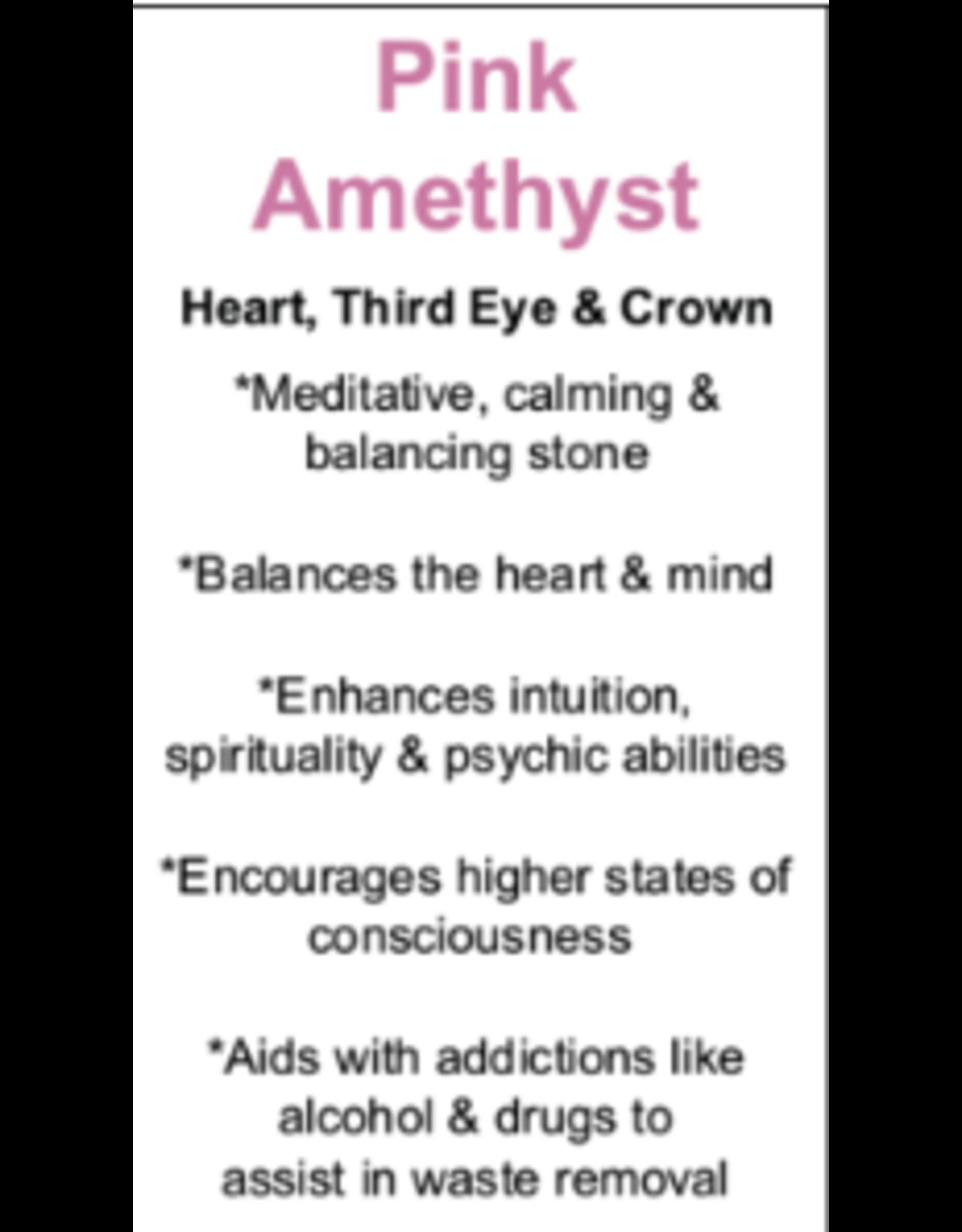 Pink/Rose Amethyst Wings #5