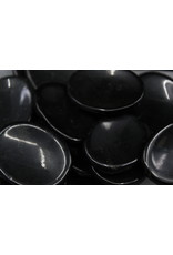 Black Tourmaline Worry Stone