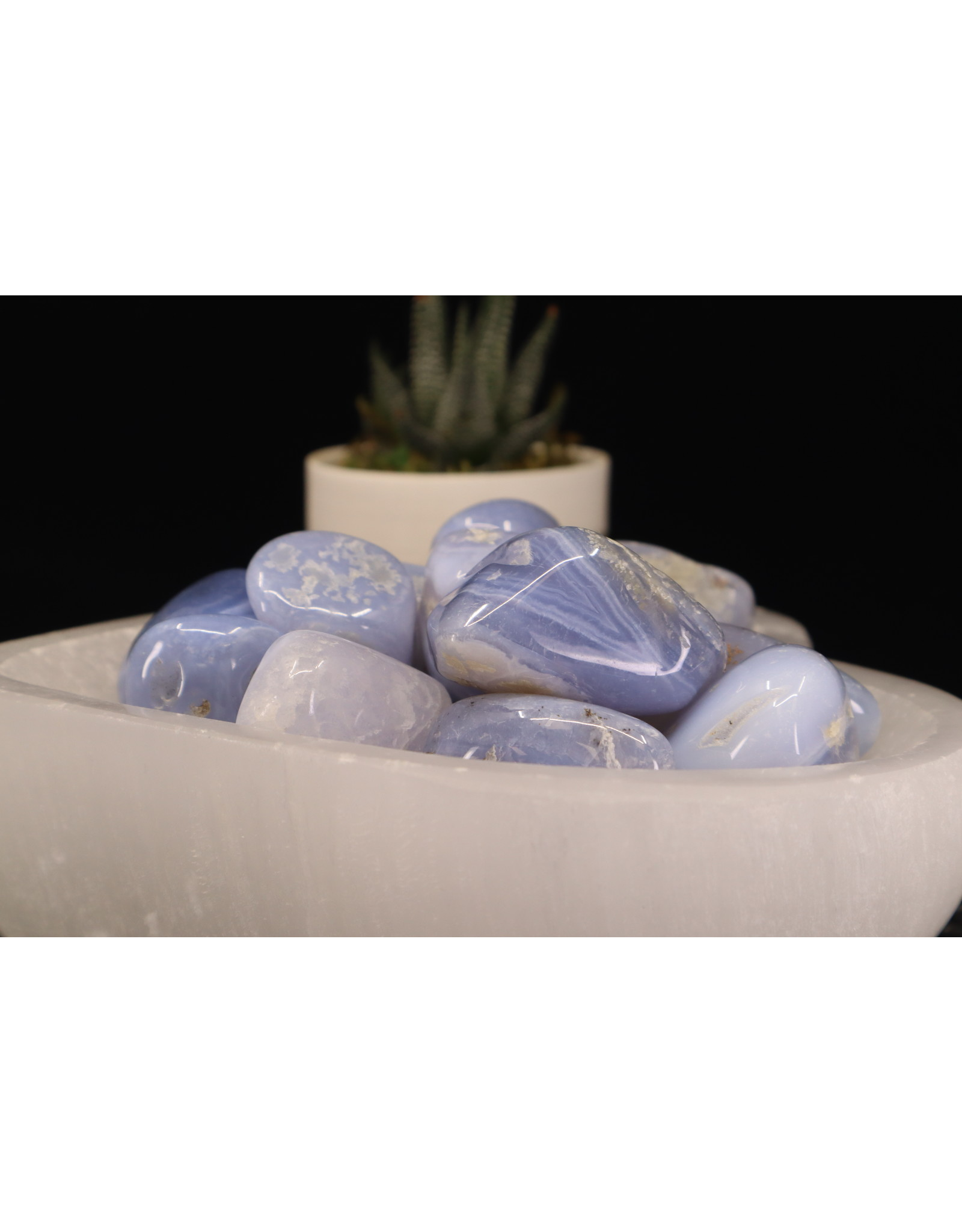 Blue Lace Agate XL Tumbled