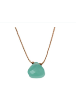 Turquoise Blue Crystal Necklace For Friendship - Soulku