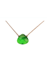 Emerald Green Crystal Soul Shine Necklace For Peace - SoulKu