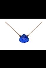 Azure Blue Crystal Soul Shine Necklace For Inspiration - SoulKu