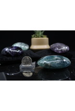 AA Rainbow Fluorite Palm Stone XL