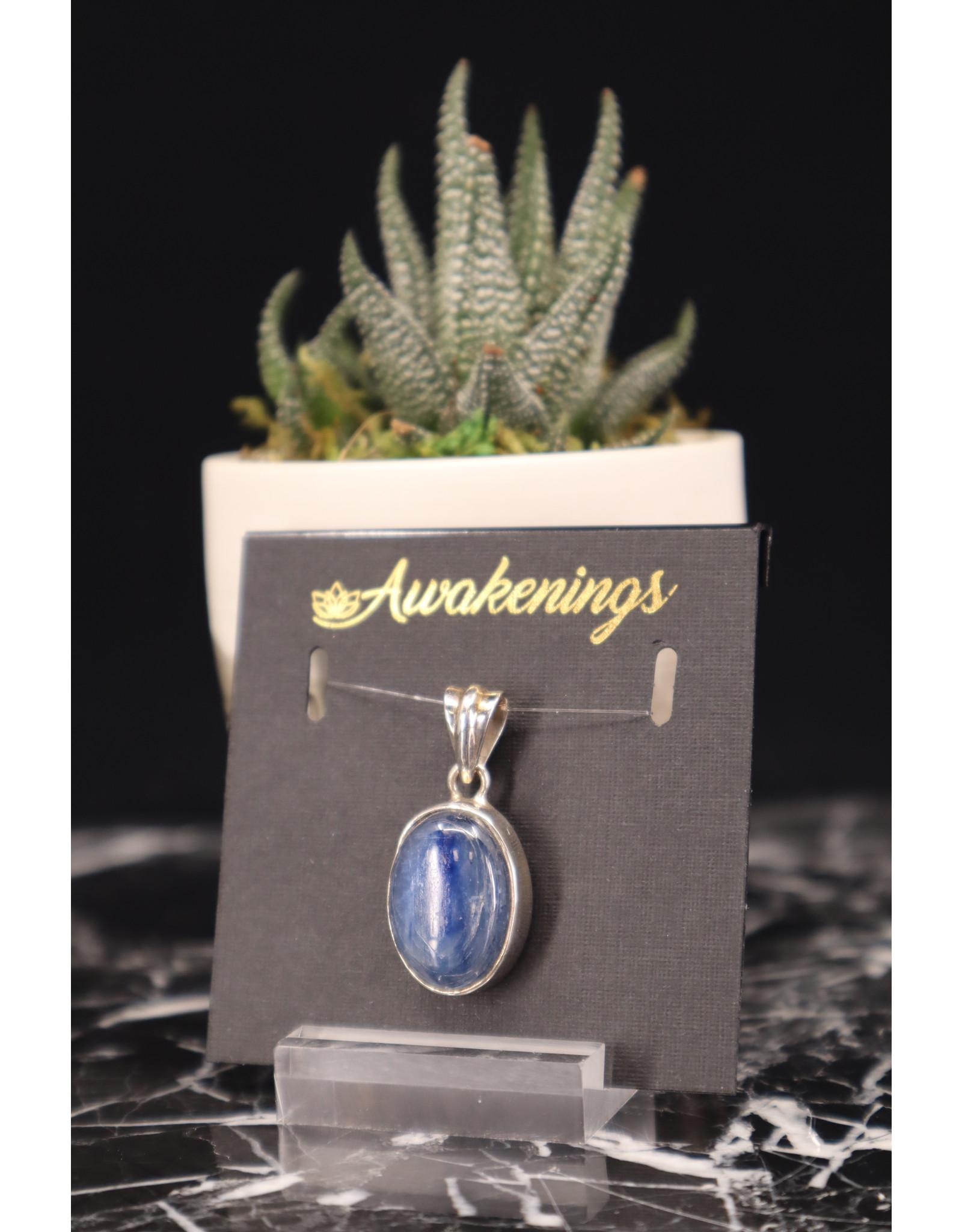 Blue Kyanite Pendant #4