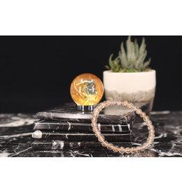 Copper Rutilated Bracelet - 6 - 8mm