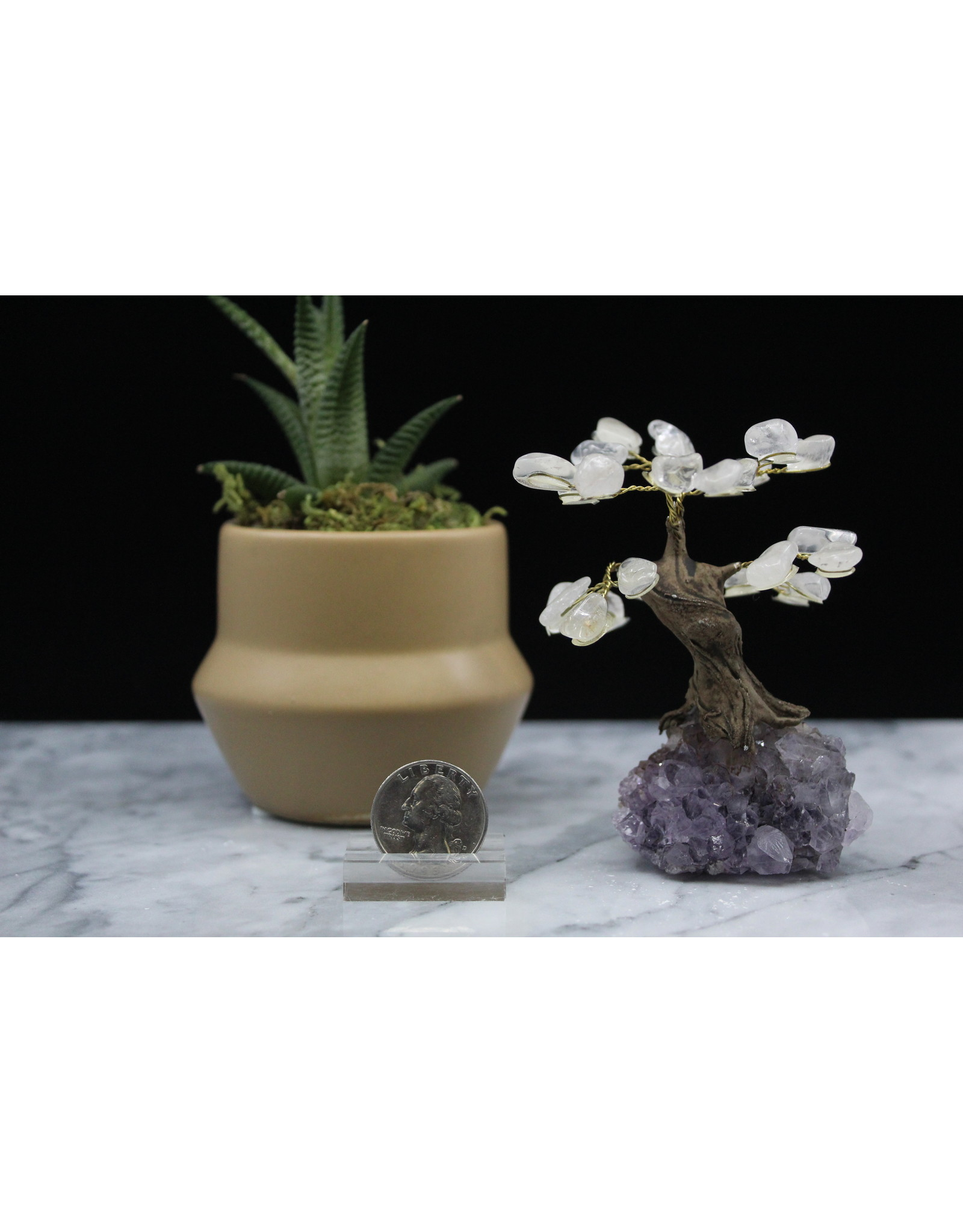 Clear Quartz Gemstone Tree - Medium