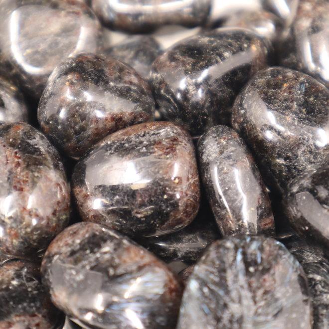 Arfvedsonite - Tumbled