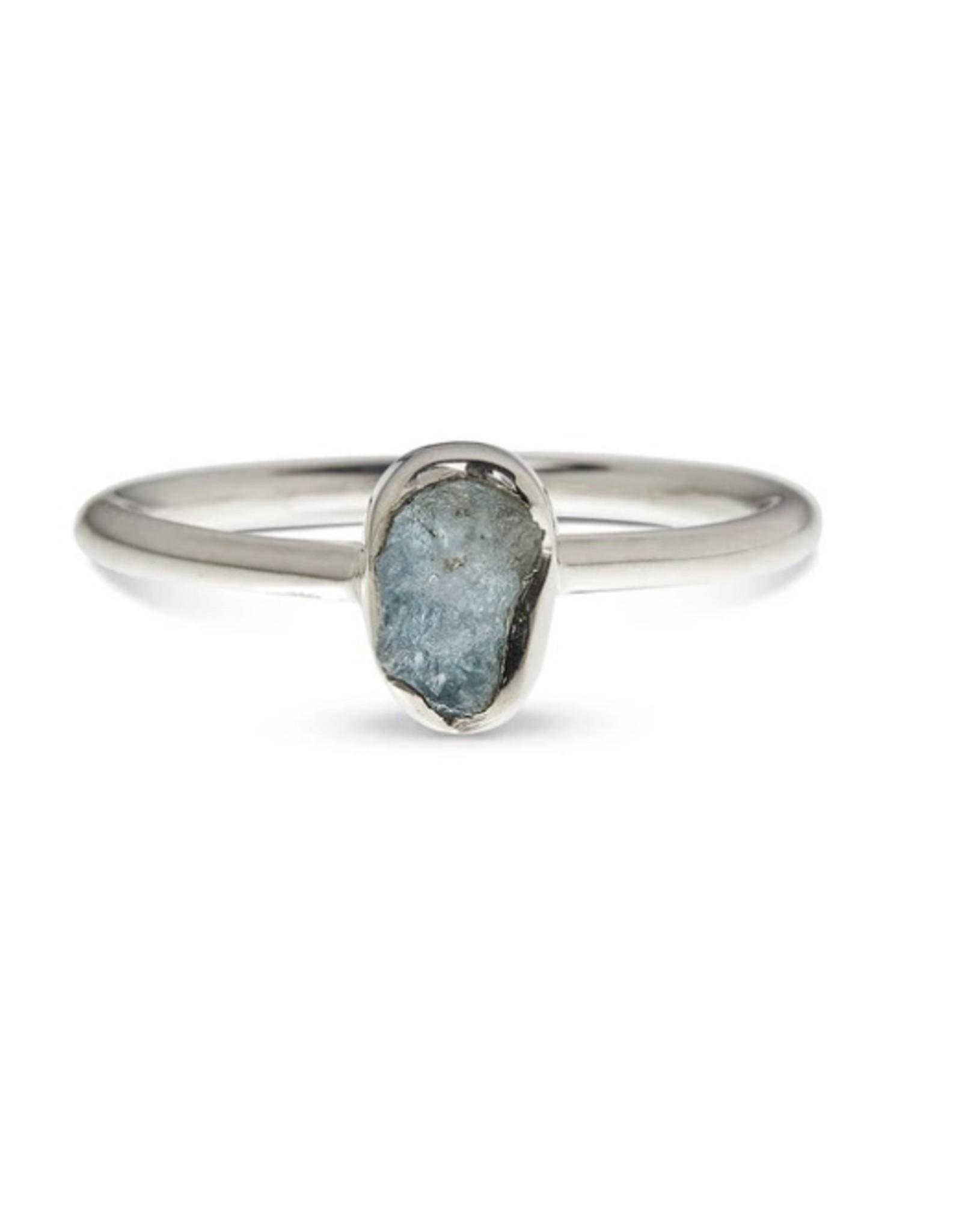 Aquamarine Ring - Size 6