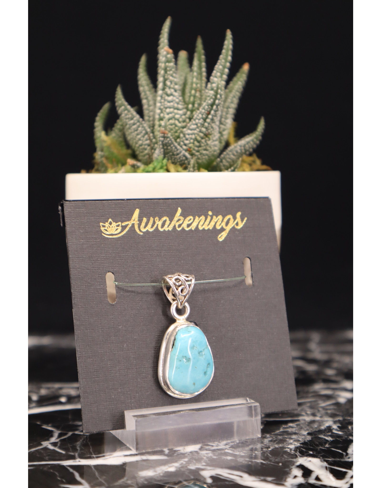 Arizona Turquoise Pendant #2