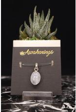 Aquamarine Pendant #4 - Oval