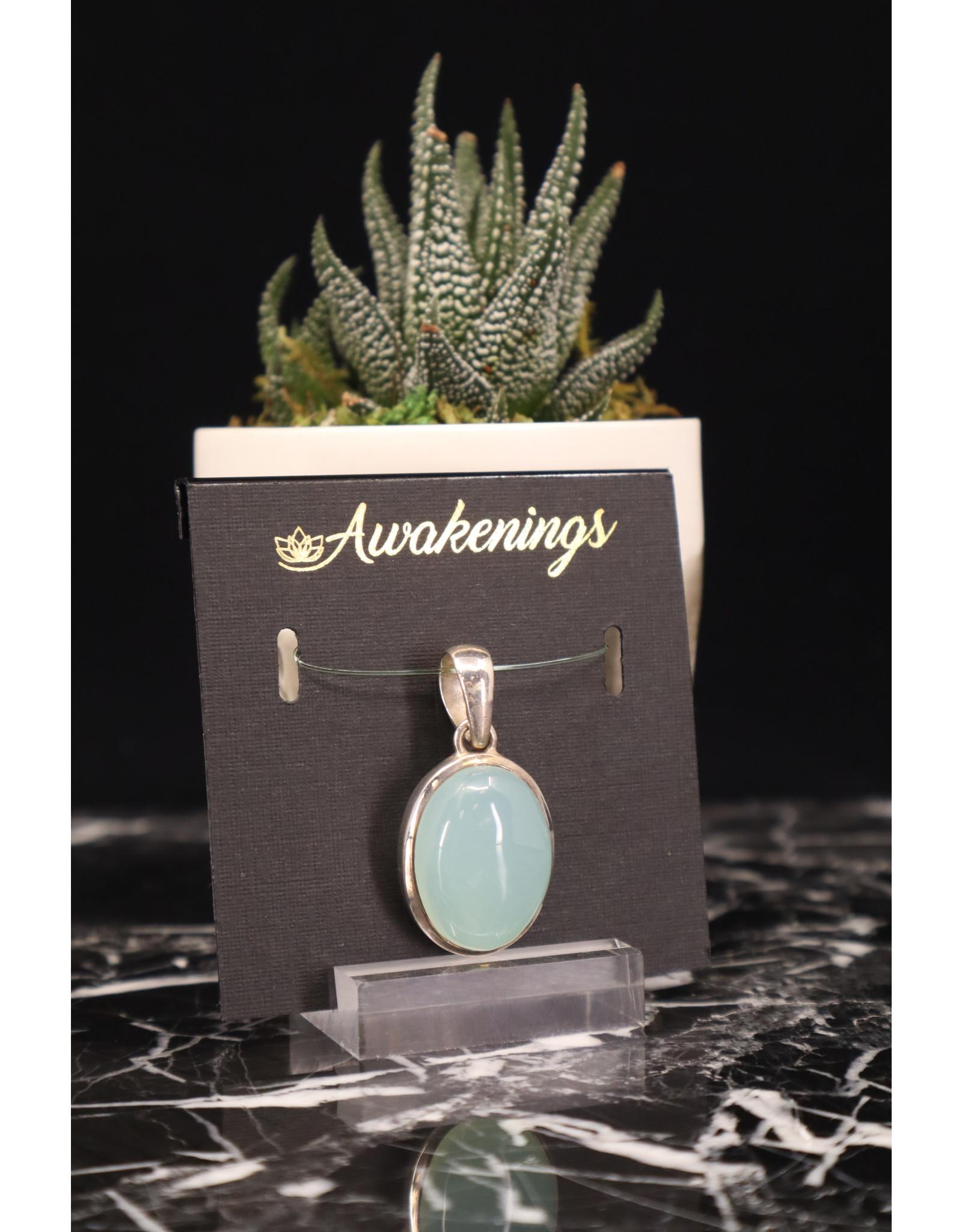 Aquamarine Pendant #1 - Oval