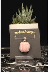 Australian Pink Opal Pendant #1