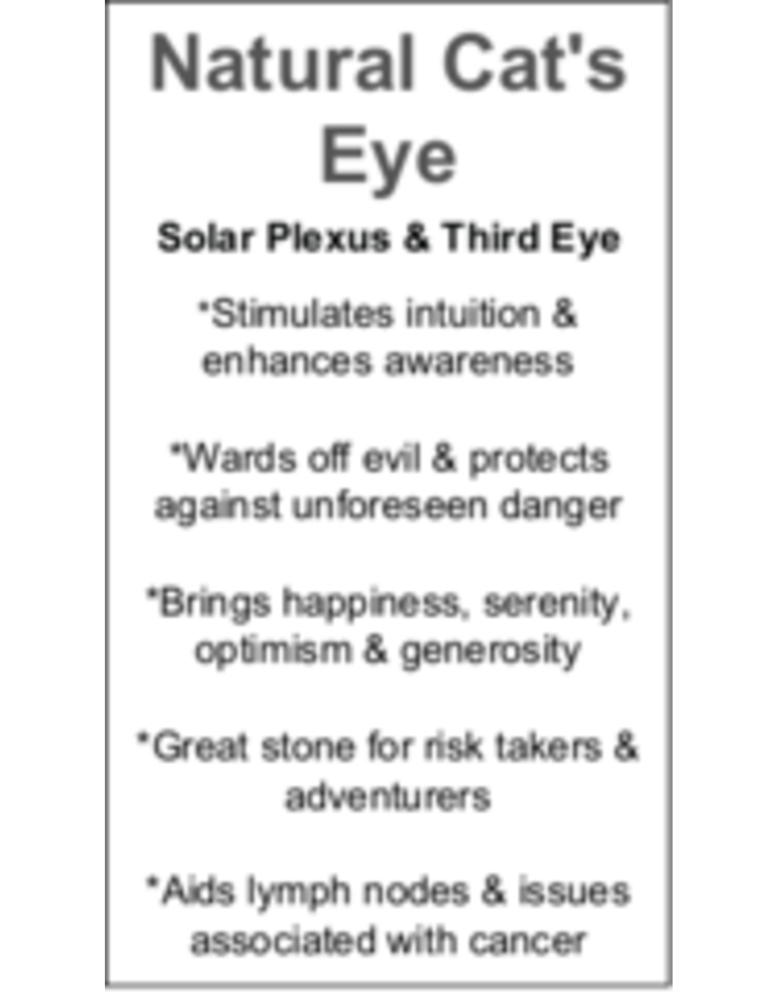 Cat's Eye Pendant #2
