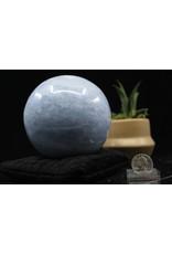 Blue Celestite Sphere Orb 100mm