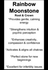Blue Fire Rainbow Moonstone 2 Pendant