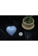 Angelite Heart Large