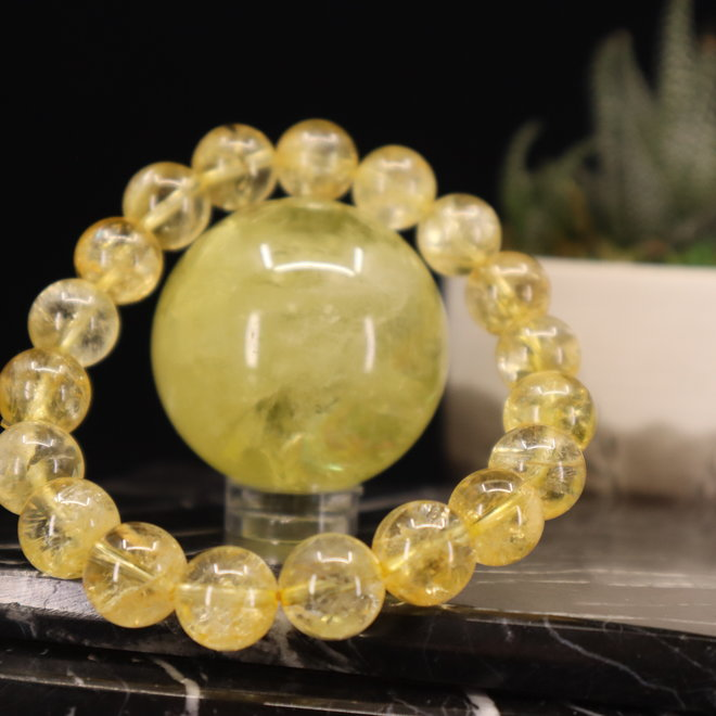 Citrine (AAA Grade) Bracelet-10mm