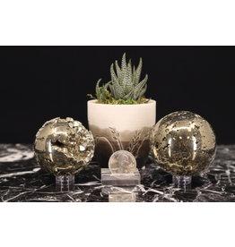 Pyrite Sphere Orb-55mm