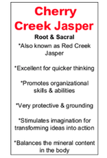 Cherry Creek Jasper - Card