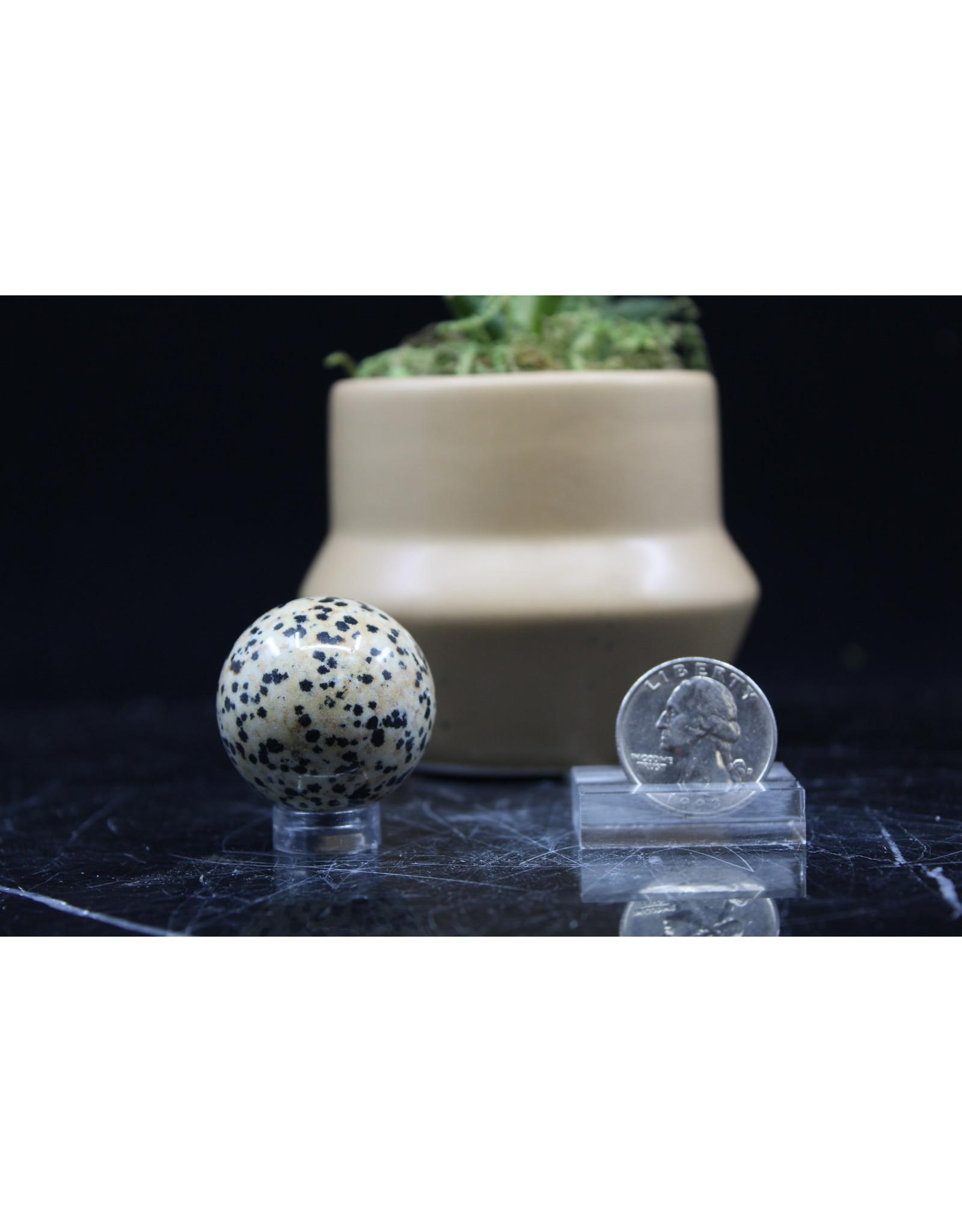 Dalmatian Jasper Sphere Orb 10-20mm