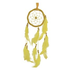 Dream Catcher Rattan- Yellow