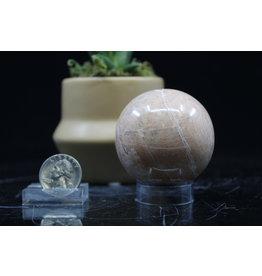 Peach Moonstone Sphere-50mm