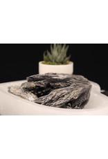 Black Kyanite Fan - Rough Raw Natural