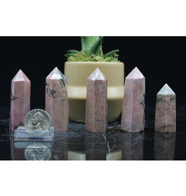Rhodonite Tower/Point-2-3""