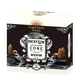 Good Earth/Soul Sticks Meditation Backflow Incense Cones