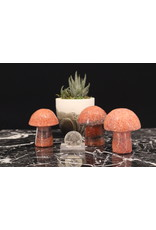 Dark Orange Calcite Mushroom XLarge