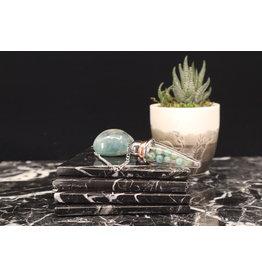 Pyrex Glass Chamber Pendulum - Grandidierite