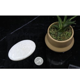Scolecite Palm/Pillow Stone -XL