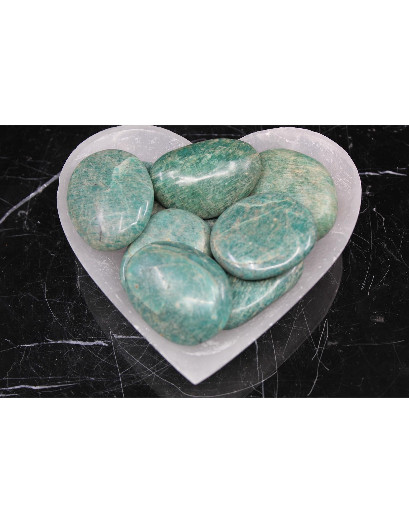 Amazonite Palm/Pillow Stone -Medium