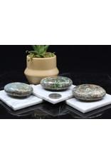 Blue Green Kyanite Palm/Pillow Stone -XL