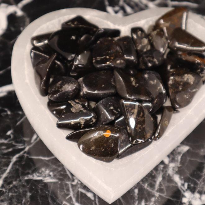 Black Jasper - Tumbled