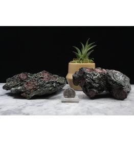 Ruby in Black Kyanite Specimen