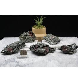 Ruby in Black Kyanite - Small