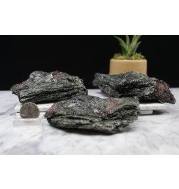 Ruby in Black Kyanite - Large