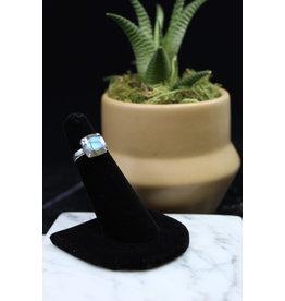 Labradorite Ring (Square) - Size 5