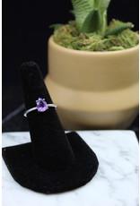 Amethyst Ring (Pear) - Size 7