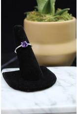 Amethyst Ring (Round) - Size 7