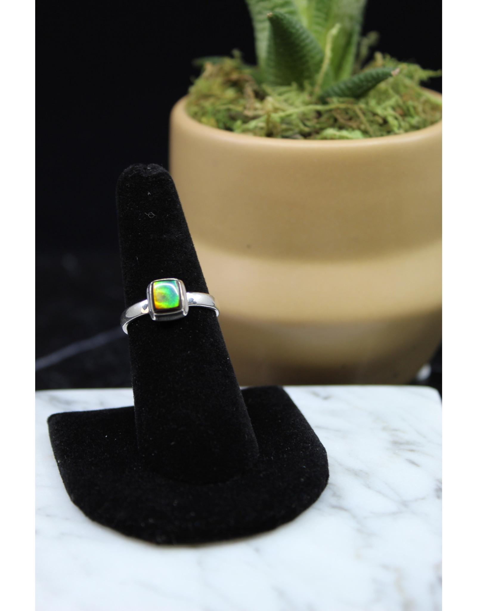 Ammolite Ring - Size 7