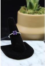 Amethyst Ring (Round) - Size 9