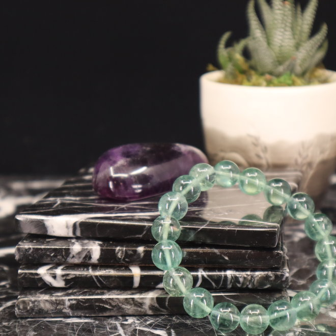 Blue Fluorite (AAA Grade) Bracelet-10mm